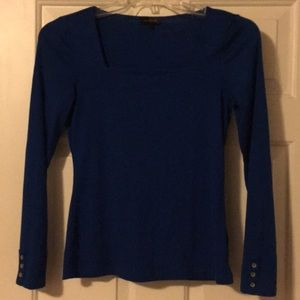 Long Sleeved, Square Neck Top